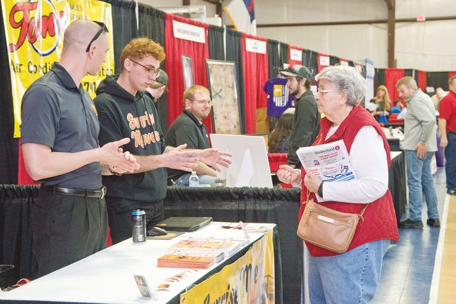 The Lake West Business Expo, sponsored by the Lake West Chamber of Commerce, was held Saturday, March 20, 2021.