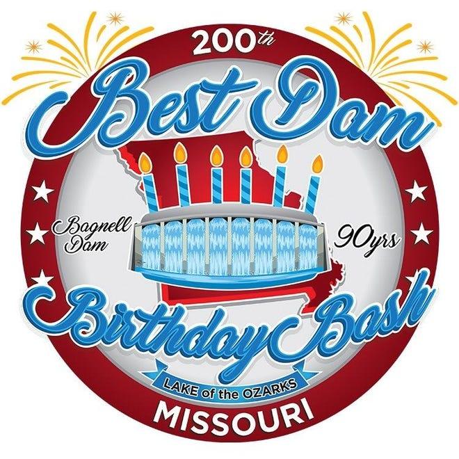 Best Dam Birthday Bash logo.
