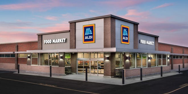 This image of a typical ALDI store is now visible in Midlothian. A new location will open on Thursday morning at 300 Harvest Hill Drive.