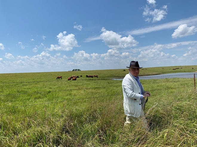 "Martin Scorsese is seen location scouting in Oklahoma for his upcoming film, ""Killers of the Flower Moon."""