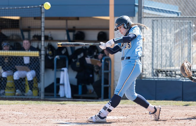 Megan Turner's seventh-inning grand slam gave Kent State an 11-7 victory over Toledo in the second game of Saturday's doubleheader at the Diamond at Dix.