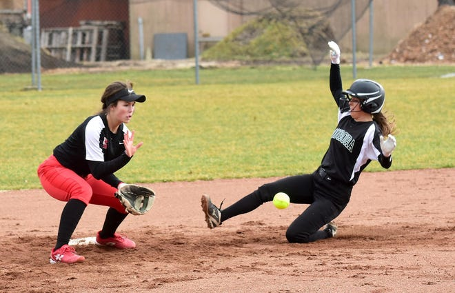 Lexie Genovese is a savvy veteran at shortstop for the Rough Riders.