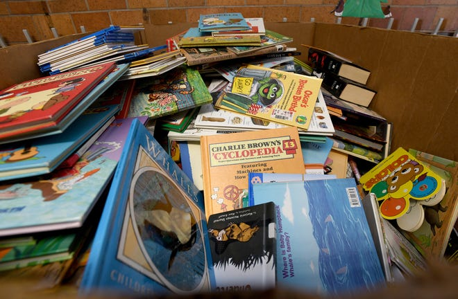 The Adult Literacy Council, 59 E. 6th St. in San Angelo, has hundreds of boxes of books that will be available for free from 9 a.m. to 1 p.m. on April 10, 17 and 24, and May 1.