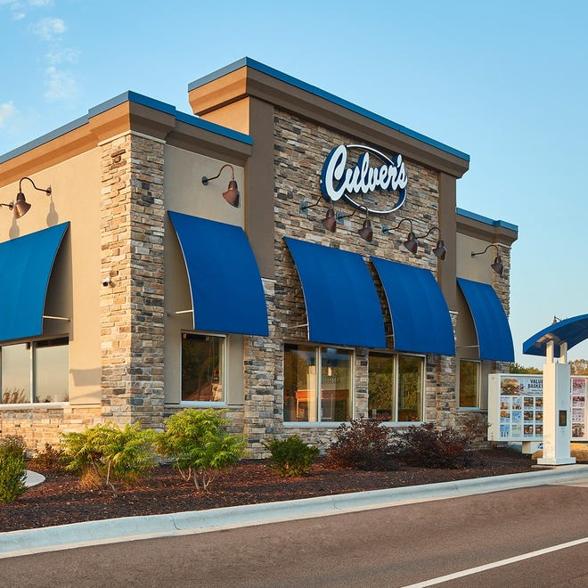 A Culver's restaurant under construction in Jackson Township will resemble this one when the site opens.