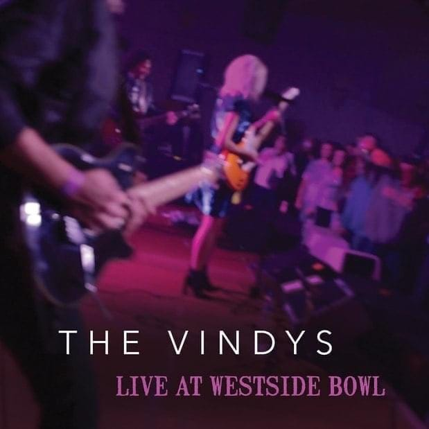 """The Vindys, a Youngstown-based rock-jazz-pop band, released """"Live at Westside Bowl"""" earlier this month. Although the band has only one full-length studio album to its credit, vocalist Jackie Popovec said the pandemic was the right time to issue a concert recording."""