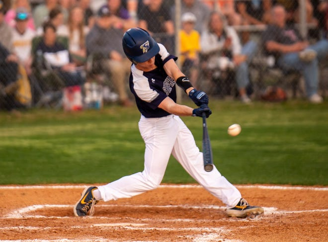 Stephenville's Lane West had a pair of hits in the Yellowjackets' 4-3 won over Glen Rose.