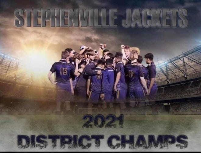 Stephenville High School boys soccer won the district title by beating Brownwood 3-1 on Friday. The Jackets head into the playoffs facing Sweetwater at 7 p.m. Friday in Graham.