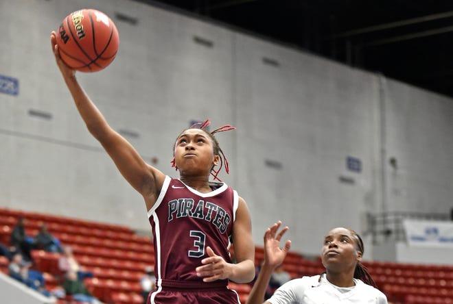 Braden River High's O'Mariah Gordon was named the Florida Dairy Farmers Miss Basketball