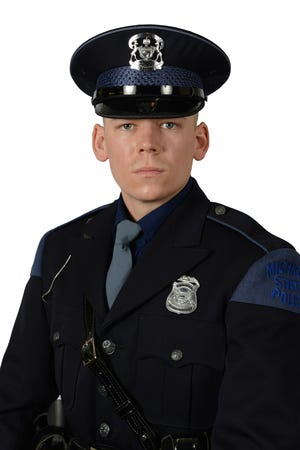 Trooper Phillip Smith with the Michigan State Police Sault Ste. Marie Post.