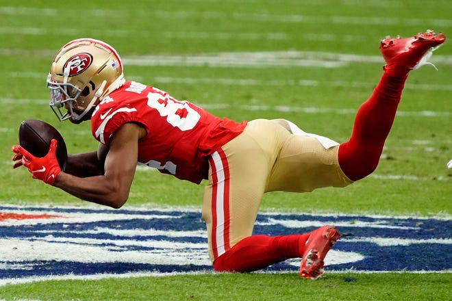 The Patriots have agreed to terms on a new three-year, $22.5 million contract with free agent receiver Kendrick Bourne. His agent, Henry Organ of Disruptive Sports, says the new deal is for three years and could be worth as much as $22.5 million.