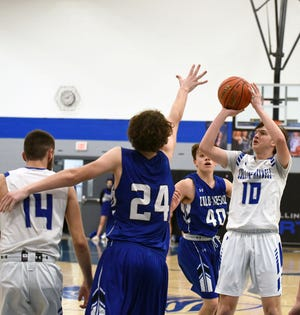 Junior Austin Kepple was a big addition to the Collins-Maxwell boys' basketball team this season. Kepple averaged 10.2 points per game to help the Spartans win seven games for the second-straight season.