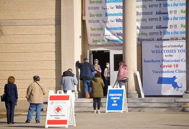 The Southern Worcester County Regional COVID-19 Vaccination Coalition opened its regional collaborative vaccination center Monday in Uxbridge to rave reviews.