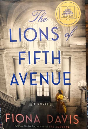 """""""The Lions of Fifth Avenue"""" by Fiona Davis"""
