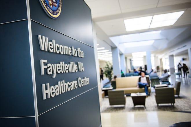 Fayetteville VA Healthcare Center on Raeford Road.