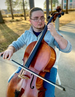Local composer Tyler Lewis.