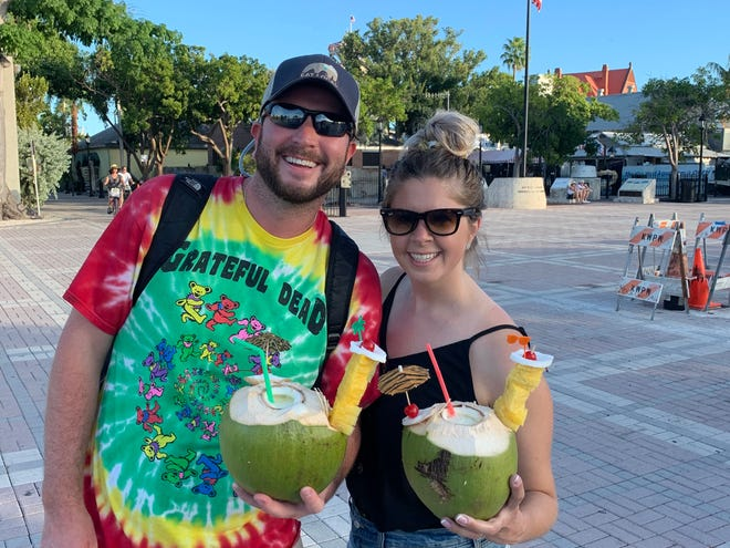 Brendan and Elizabeth Coyne, of Marshfield, run the Foodies South Shore Instagram page.