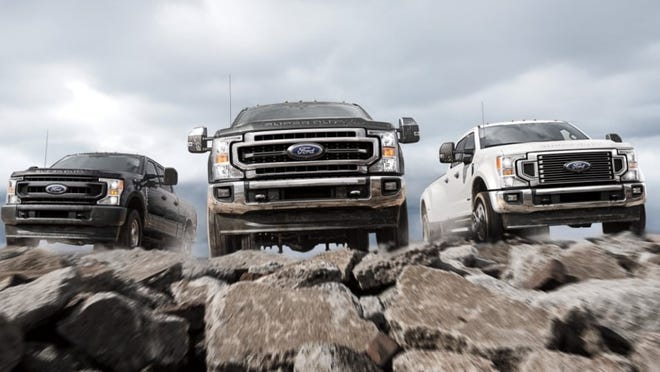 2021 Ford Super Duty will see  a production cutback at the Kentucky Truck Plant in Louisville because of the semiconductor shortage.