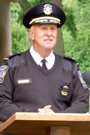 Fred Posavetz, Clinton Township police chief