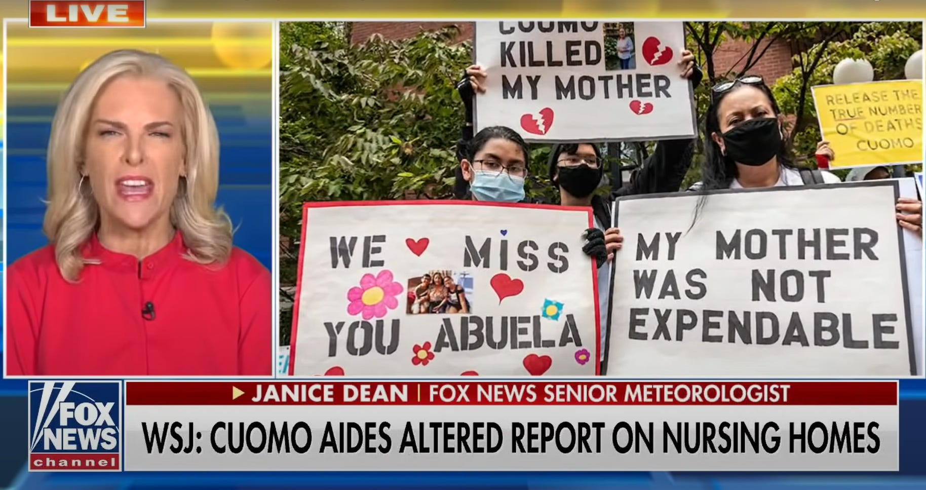Fox News meteorologist Dean turns into fierce Cuomo critic 2