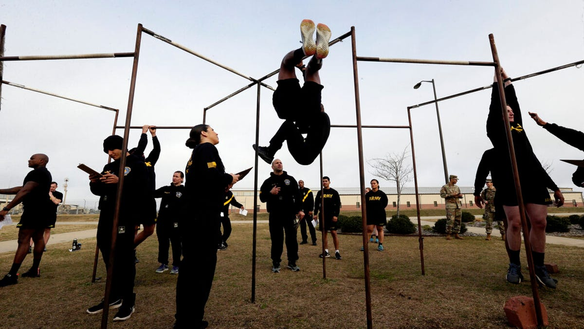 Army revamps fitness exam, kicks out leg tuck test many fail 3