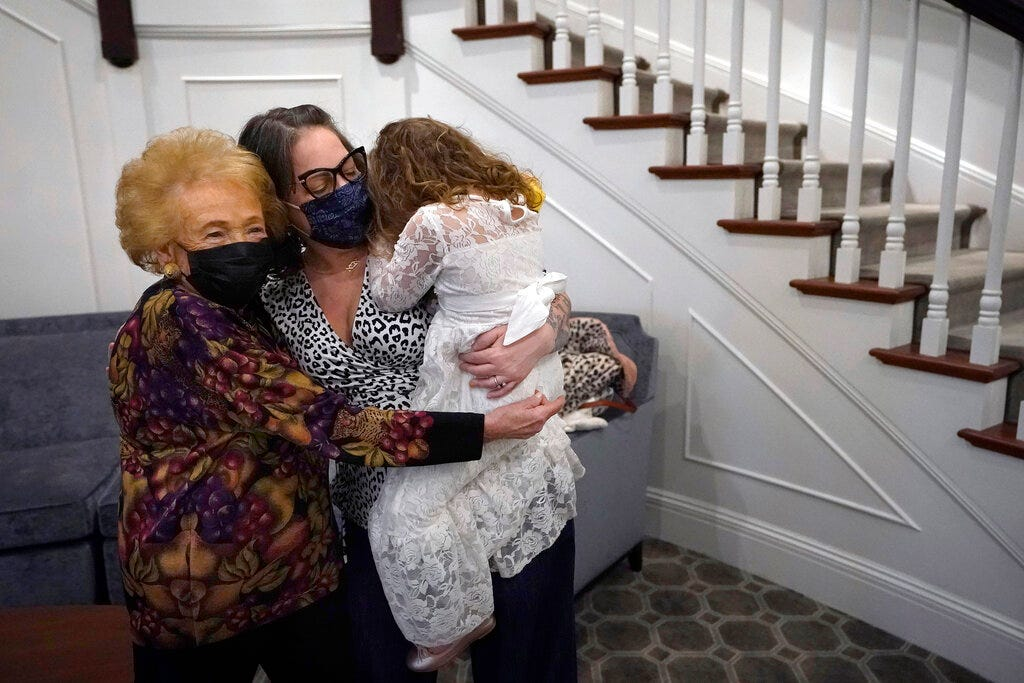 Hugs, at last: Nursing homes easing rules on visitors 2