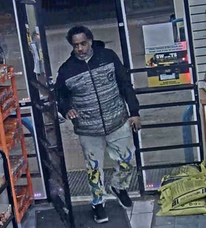 The first suspect police are looking for in connection to a car jacking on Detroit's west side on March 3.