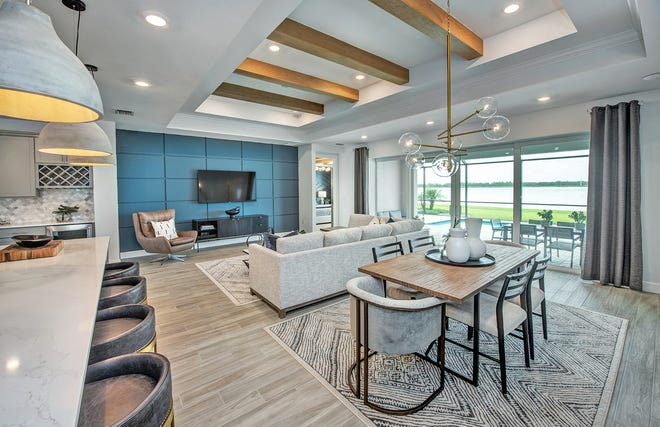 Pulte's award-winning Stardom model features clean lines and a thoughtful layout. This flexible floor plan can be configured with up to three bedrooms, three-and-a-half baths and a two- or three-car garage.