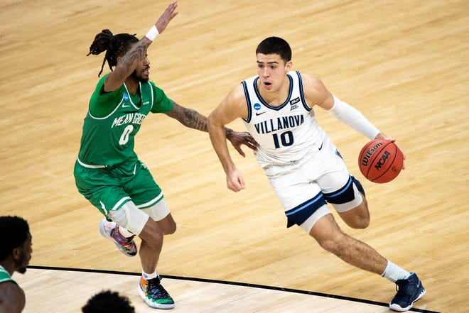 Portsmouth native Cole Swider is leaving Villanova for Syracuse.