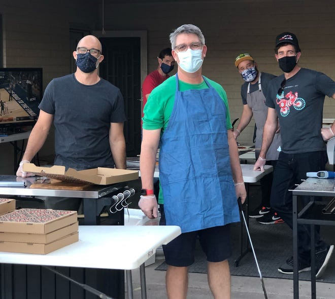 Jon Fein, Nat Butler, Pete Simms, James Depey and Kyle Kenkel turned their pandemic hobby into a way to raise money for charity.