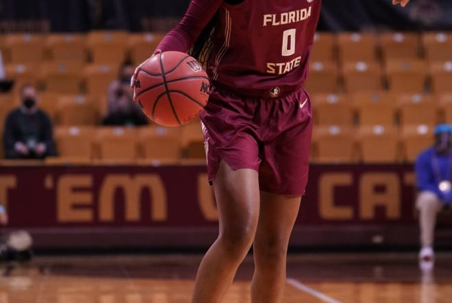 FSU point guard Bianca Jackson finished with 17 points in the NCAA Tournament first-round loss to Oregon State on Sunday night