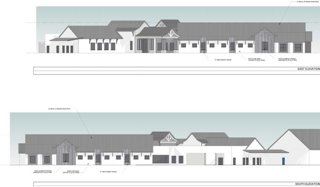 Mattamy Palm Beach, LLC, wants Vitas Healthcare to develop a 20,816-square-feet hospice facility with 16 rooms and a community center near Tradition Parkway.