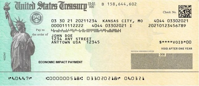 The IRS says more stimulus checks are expected to be sent out this week and in coming weeks.