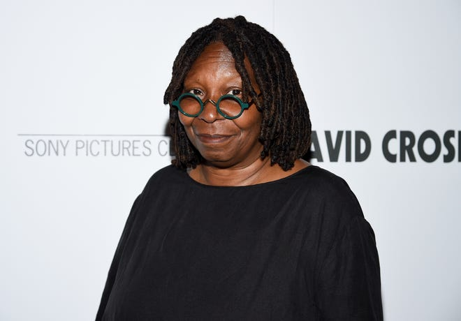 """Whoopi Goldberg attends a special screening of """"David Crosby: Remember My Name,"""" hosted by Sony Pictures Classics and The Cinema Society, at The Roxy Cinema, Tuesday, July 16, 2019, in New York."""