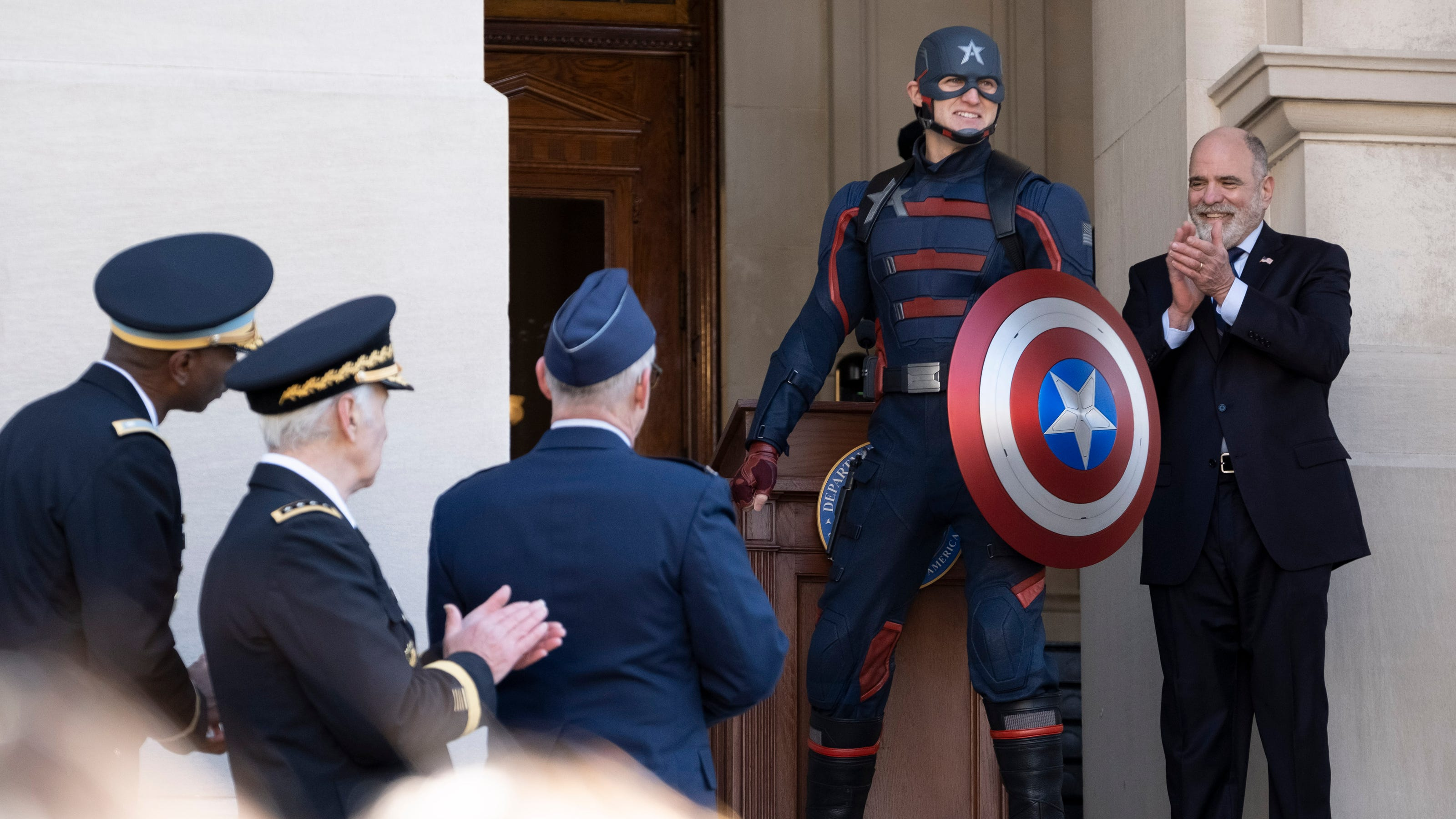 Falcon and the Winter Soldier': New Captain America interview