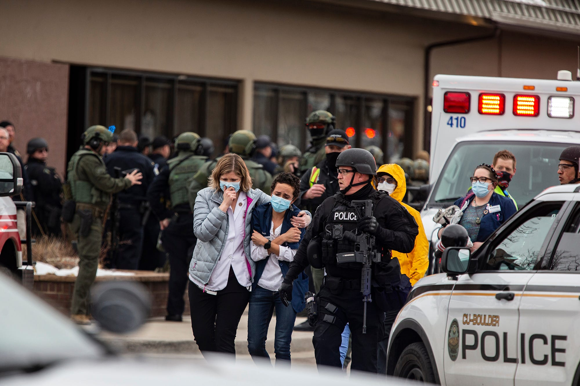 This is a sad day for Boulder : Gunman kills 10 at Colorado supermarket, including police officer, in second US mass shooting in a week