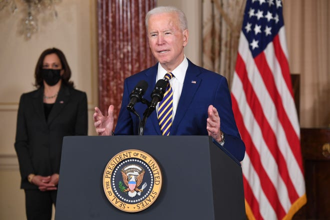 With Democrats turning to the rest of President Joe Biden's agenda after using a fast-track budget process to get his $1.9 trillion stimulus through the Senate, outside liberal groups are pressing hard for an end to the filibuster.
