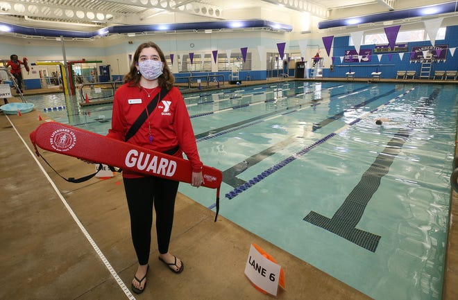 Lake Anna YMCA Aquatics Director Leah Ferencak-Hapanowicz has had to pick up lifeguarding shifts to keep the facilities in Barberton open.