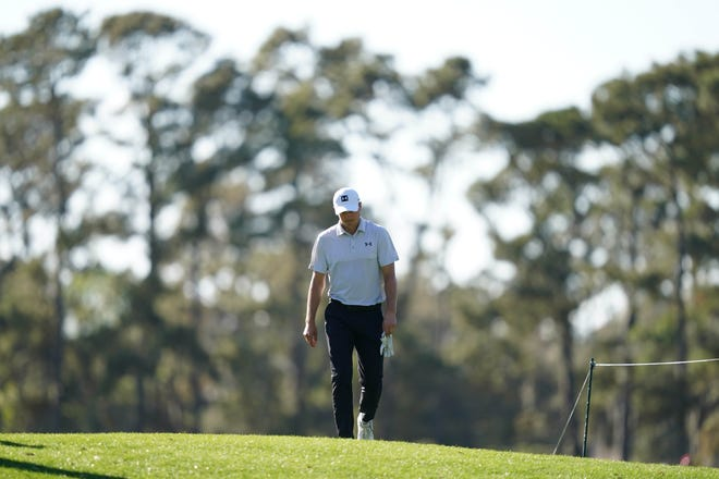 Jordan Spieth, shown walking to the 12th tee during the first round of The Players Championship earlier this month, comes back to the WGC-Dell Match Play tournament with a surge of confidence after a strong start to the PGA Tour season.