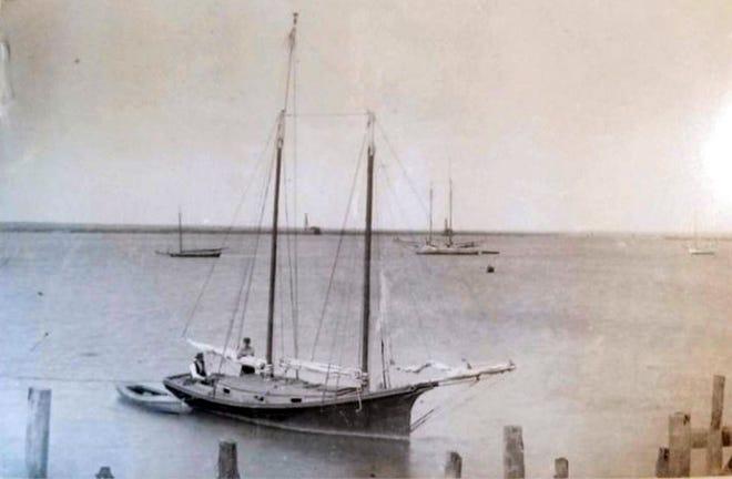 The Schooner Grace built by William Lenholf Marshall