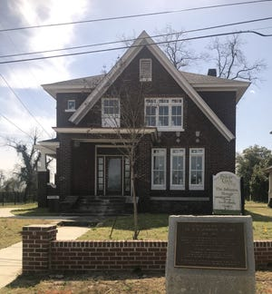 Augusta is converting the historic 1921 Johnson house, the home of pharmacist S.S. Johnson, into a duplex.