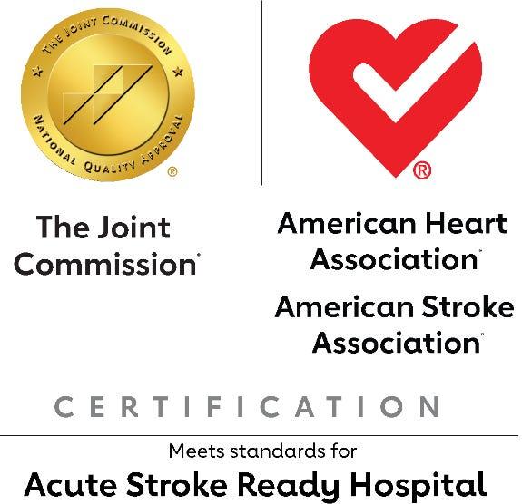 "Hampton Regional Medical Center has been certified as a ""stroke ready"" hospital."