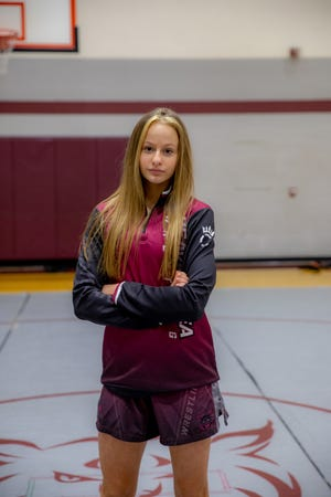 Beaver junior Adriana Gilliam finished fifth at the 2021 MyHouse Pennsylvania Girls State Wrestling Championship. She's the school's first female wrestler and finished third in the WPIAL sub-section tournament earlier this year.