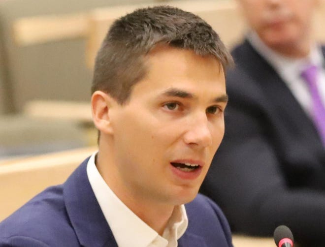 State Rep. Dylan Fernandes, D-Woods Hole, is co-sponsor of a bill that would levy a fee on the highest property sales on Nantucket to help pay for affordable housing.
