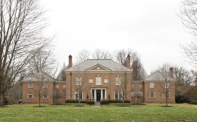 The New Albany home of Ronald Greenbaum, aka The Basement Doctor