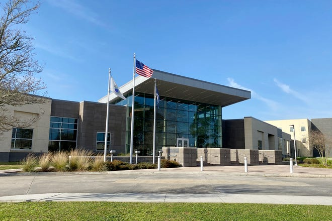 The Ascension Parish Governmental Complex located on E. Worthey Street in Gonzales.