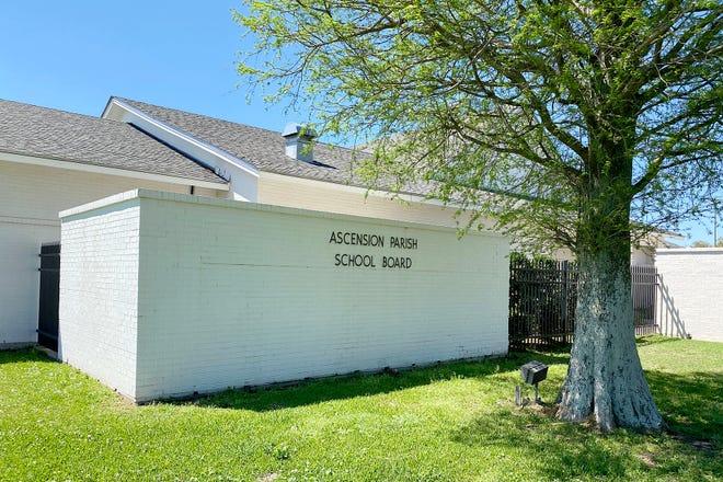 The Ascension Parish School Board office shown last week in Donaldsonville.