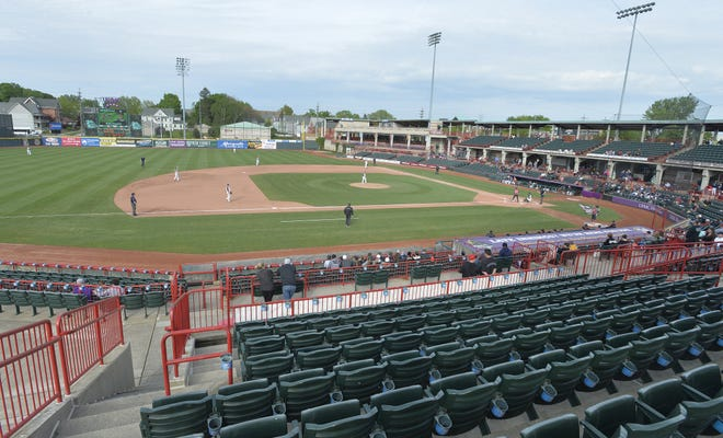 UPMC Park, shown in 2019, will be the location of more than 20 high school baseball dates in 2021.