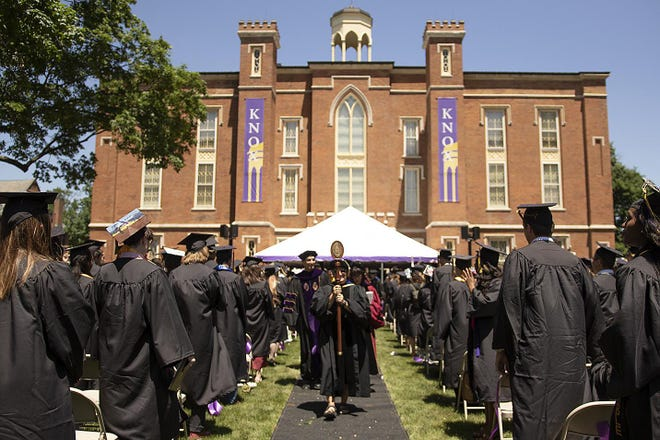 Knox College held commencement for the Class of 2018 on June 3, 2018.