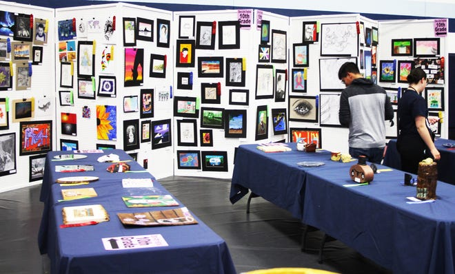 The 65th Annual Otero Arts Festival call for entries includes art created by all students grades 7-12 with entries being accepted on Friday from 11 a.m. until 5 p.m. in the Otero Junior College Student Center Rizzuto Banquet Room.