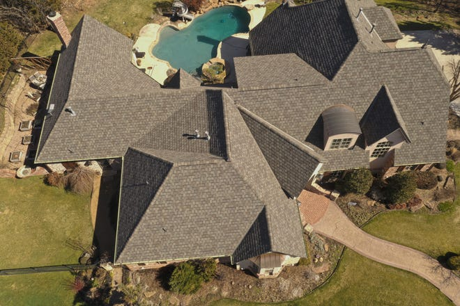Roofing by McRoof, an exhibitor at the OKC Home + Outdoor Living Show this weekend.